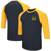 Cal Bears Colosseum Raglan 3/4-Sleeve T-Shirt – Navy/Gold