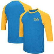 UCLA Bruins Colosseum Raglan 3/4-Sleeve T-Shirt – Blue/Gold