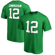 Randall Cunningham Philadelphia Eagles NFL Pro Line by Fanatics Branded Retired Player Authentic Stack Name & Number T-Shirt – K