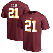 Sean Taylor Washington Redskins NFL Pro Line by Fanatics Branded Retired Player Authentic Stack Name & Number T-Shirt – Burgundy