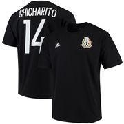 Chicharito Mexico National Team adidas Go To Name & Number T-Shirt - Black