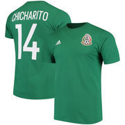 Chicharito Mexico National Team adidas Go To Name & Number T-Shirt - Green