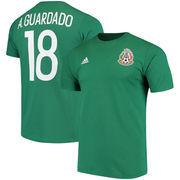 Andres Guardado Mexico National Team adidas Go To Name & Number T-Shirt - Green