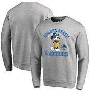 Golden State Warriors Fanatics Branded Disney Tradition Sweatshirt - Ash