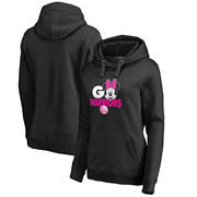 Golden State Warriors Fanatics Branded Women's Disney Rally Cry Minnie Pullover Hoodie - Black