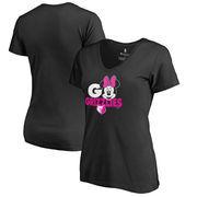 Memphis Grizzlies Fanatics Branded Women's Disney Rally Cry Minnie V-Neck T-Shirt - Black