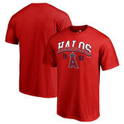 Los Angeles Angels Fanatics Branded Hometown Collection Halos T-Shirt - Red
