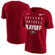 Georgia Bulldogs Nike College Football Playoff 2018 Rose Bowl Bound T-Shirt – Red
