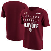 Oklahoma Sooners Nike College Football Playoff 2018 Rose Bowl Bound T-Shirt – Crimson