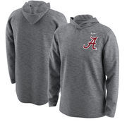 Alabama Crimson Tide Nike 2017 College Football Playoff Bound Team Issue Hooded Long Sleeve T-Shirt – Heathered Gray