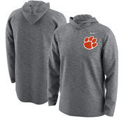 Clemson Tigers Nike 2017 College Football Playoff Bound Team Issue Hooded Long Sleeve T-Shirt – Heathered Gray