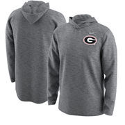 Georgia Bulldogs Nike 2017 College Football Playoff Bound Team Issue Hooded Long Sleeve T-Shirt – Heathered Gray
