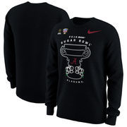 Alabama Crimson Tide Nike College Football Playoff 2018 Sugar Bowl Bound Illustration Long Sleeve T-Shirt – Black