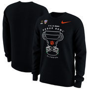 Clemson Tigers Nike College Football Playoff 2018 Sugar Bowl Bound Illustration Tri-Blend Long Sleeve T-Shirt - Black