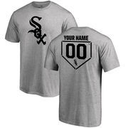 Chicago White Sox Fanatics Branded Personalized RBI T-Shirt - Heathered Gray