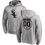 Chicago White Sox Fanatics Branded Personalized RBI Pullover Hoodie - Heathered Gray