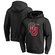 Oklahoma Sooners Fanatics Branded 2017 College Football Playoff Bound Checkdown Pullover Hoodie – Black