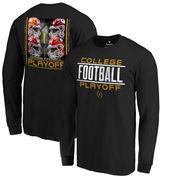 Fanatics Branded 2017 College Football Playoff Bracket Cornerback Long Sleeve T-Shirt – Black