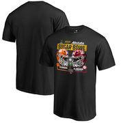 Alabama Crimson Tide vs. Clemson Tigers Fanatics Branded College Football Playoff 2018 Sugar Bowl Dueling First Down T-Shirt – B
