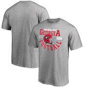 Georgia Bulldogs Fanatics Branded College Football Playoff 2018 Rose Bowl Bound Down T-Shirt – Heathered Gray