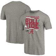 Alabama Crimson Tide Fanatics Branded College Football Playoff 2018 Sugar Bowl Bound Drive Tri-Blend T-Shirt – Gray
