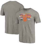 Clemson Tigers Fanatics Branded College Football Playoff 2018 Sugar Bowl Bound Drive Tri-Blend T-Shirt – Gray