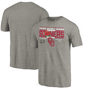 Oklahoma Sooners Fanatics Branded College Football Playoff 2018 Rose Bowl Bound Drive Tri-Blend T-Shirt – Gray