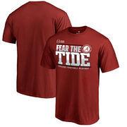 Alabama Crimson Tide Fanatics Branded 2017 College Football Playoff Bound Center T-Shirt – Crimson
