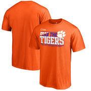Clemson Tigers Fanatics Branded 2017 College Football Playoff Bound Center T-Shirt – Orange