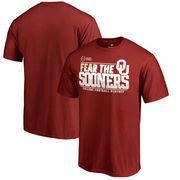 Oklahoma Sooners Fanatics Branded 2017 College Football Playoff Bound Center T-Shirt – Cardinal