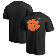 Clemson Tigers Fanatics Branded 2017 College Football Playoff Bound Checkdown T-Shirt – Black