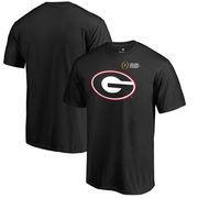 Georgia Bulldogs Fanatics Branded 2017 College Football Playoff Bound Checkdown T-Shirt – Black