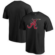 Alabama Crimson Tide Fanatics Branded 2017 College Football Playoff Bound Checkdown Big & Tall T-Shirt – Black