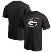 Georgia Bulldogs Fanatics Branded 2017 College Football Playoff Bound Checkdown Big & Tall T-Shirt – Black