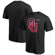 Oklahoma Sooners Fanatics Branded 2017 College Football Playoff Bound Checkdown Big & Tall T-Shirt – Black
