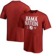 Alabama Crimson Tide Fanatics Branded Youth College Football Playoff 2018 Sugar Bowl Bound Delay T-Shirt – Crimson