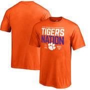 Clemson Tigers Fanatics Branded Youth College Football Playoff 2018 Sugar Bowl Bound Delay T-Shirt – Orange
