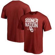 Oklahoma Sooners Fanatics Branded College Football Playoff 2018 Rose Bowl Bound Delay Big & Tall T-Shirt – Scarlet