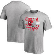 Georgia Bulldogs Fanatics Branded Youth College Football Playoff 2018 Rose Bowl Bound Down T-Shirt – Heathered Gray