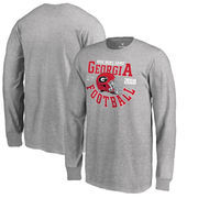 Georgia Bulldogs Fanatics Branded Youth College Football Playoff 2018 Rose Bowl Bound Down Long Sleeve T-Shirt – Heathered Gray