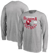 Oklahoma Sooners Fanatics Branded Youth College Football Playoff 2018 Rose Bowl Bound Down Long Sleeve T-Shirt – Heathered Gray