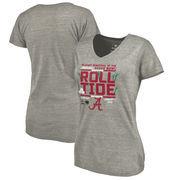 Alabama Crimson Tide Fanatics Branded Women's College Football Playoff 2018 Sugar Bowl Bound Drive Tri-Blend V-Neck T-Shirt – He