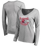Alabama Crimson Tide Fanatics Branded Women's College Football Playoff 2018 Sugar Bowl Bound Down Slim Fit Long Sleeve V-Neck T-