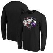 Stanford Cardinal vs. TCU Horned Frogs Fanatics Branded 2017 Alamo Bowl Dueling Long Sleeve T-Shirt – Black