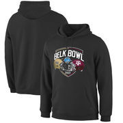 Wake Forest Demon Deacons vs. Texas A&M Aggies Fanatics Branded 2017 Belk Bowl Dueling Backfield Pullover Hoodie – Black
