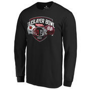 Louisville Cardinals vs. Mississippi State Bulldogs Fanatics Branded 2017 Taxslayer Bowl Dueling Long Sleeve T-Shirt – Black