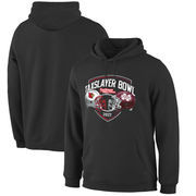 Louisville Cardinals vs. Mississippi State Bulldogs Fanatics Branded 2017 Taxslayer Bowl Dueling Pullover Hoodie – Black