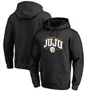 JuJu Smith-Schuster Pittsburgh Steelers NFL Pro Line by Fanatics Branded Hometown Collection Pullover Hoodie – Black