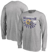 Washington Huskies Fanatics Branded Youth 2017 Fiesta Bowl Bound Down Long Sleeve T-Shirt – Heathered Gray