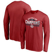 Toronto FC Fanatics Branded 2017 MLS Cup Champions Dash Long Sleeve T-Shirt – Red